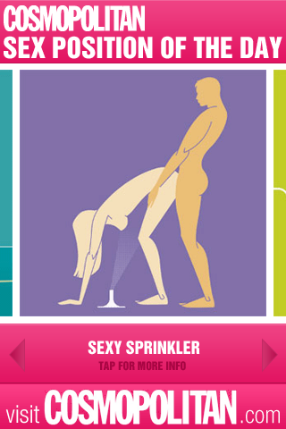 Cosmopolitans sex position of the day