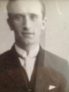 Sydney Gunter, my grandfather, June 24, 1918
