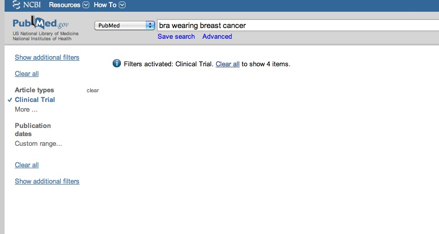 "ceb4b257d1c43 typed ""bra wearing breast cancer"" into the trusty little search tool"
