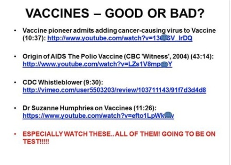 Are Canadian universities fertile ground for anti vaccinepseudoscience?