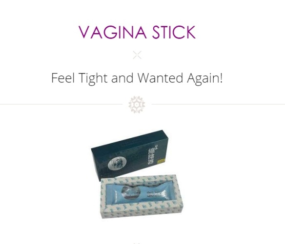 Don T Use A Japanese Vagina Stick To Tighten Your Vagina Okay Dr Jen Gunter