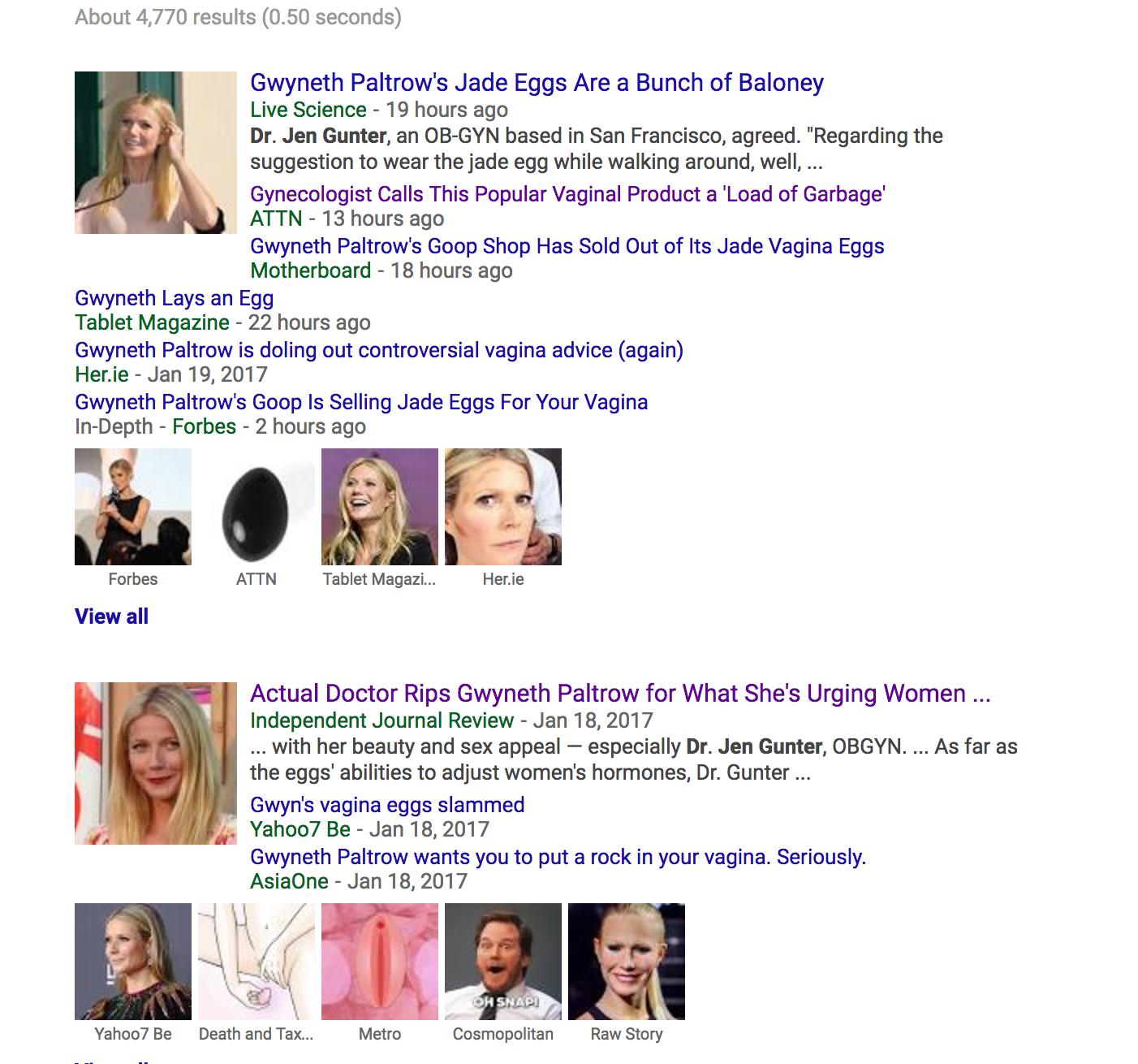 Goop Gaslights Women Re Vaginal Jade Eggs Claiming