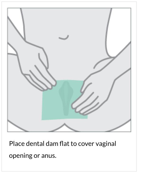 Dams for oral sex